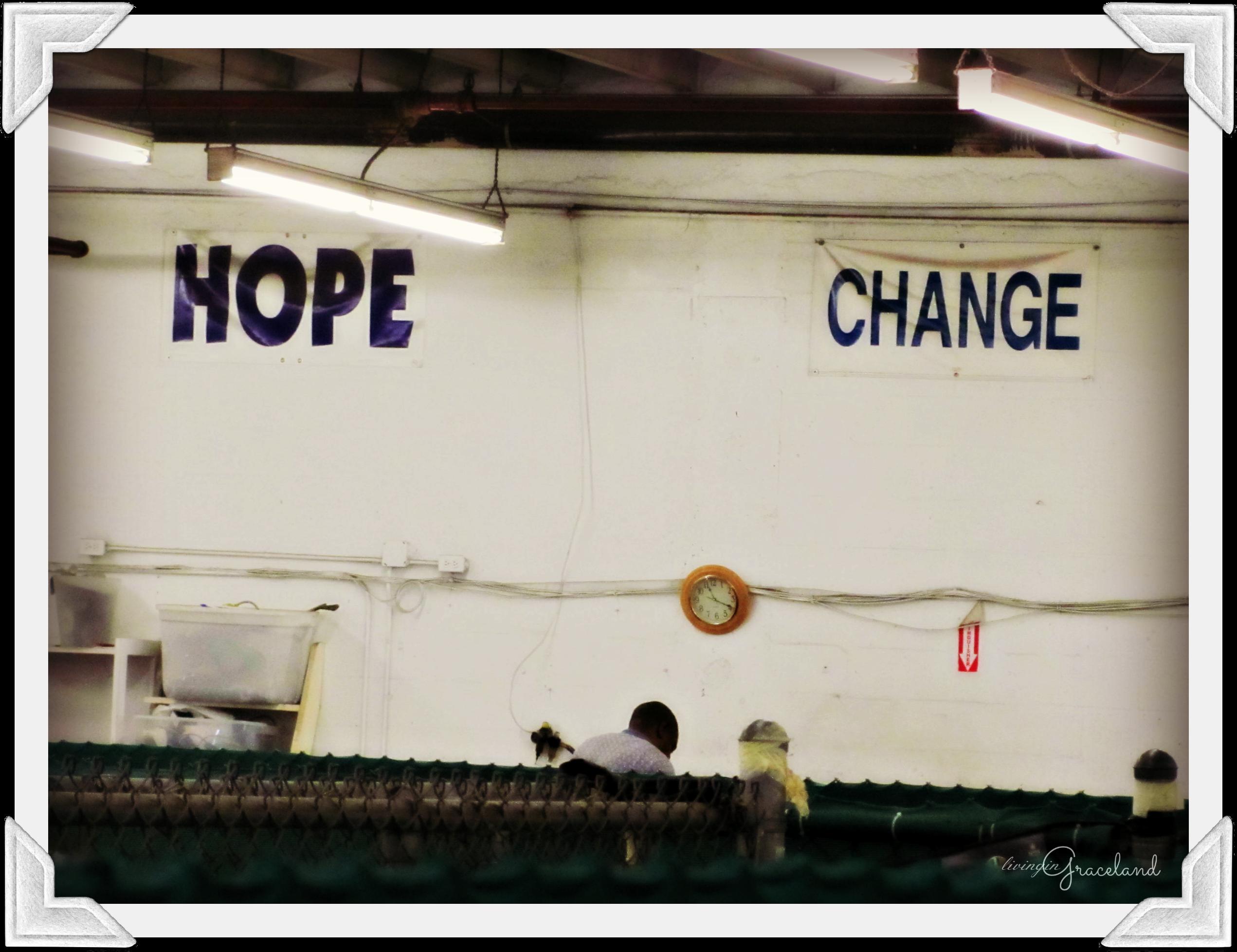 HOPE CHANGE logo