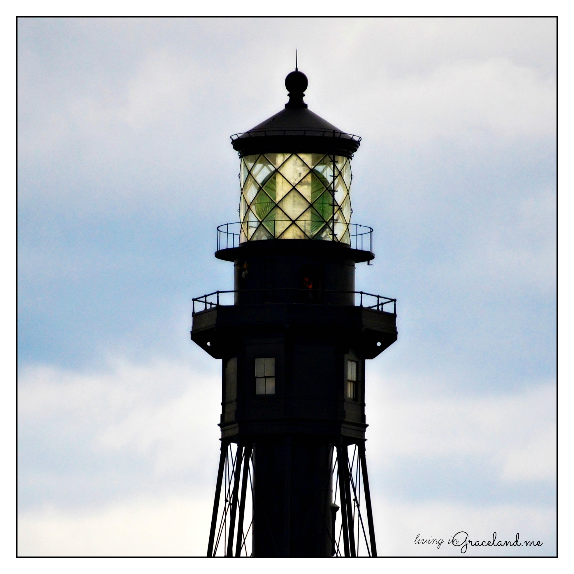 lighthouse top framed