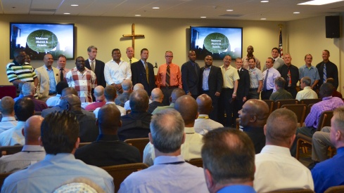 former program graduates join us for worship