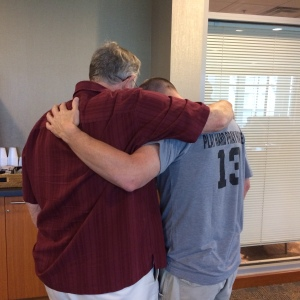 A dear man of God who came to pray with my brother before his surgery.